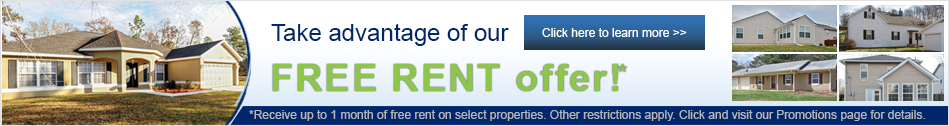 Free Rent* offer banner - click for details >>