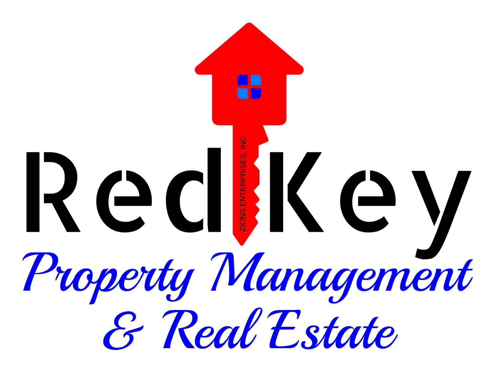 Logo. Red Key Property Management & Real Estate
